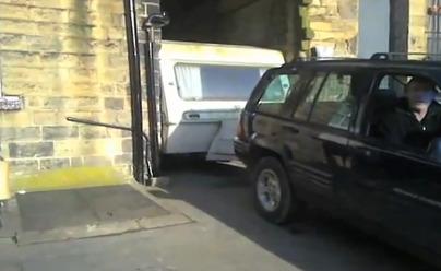Comment sortir une caravane du garage