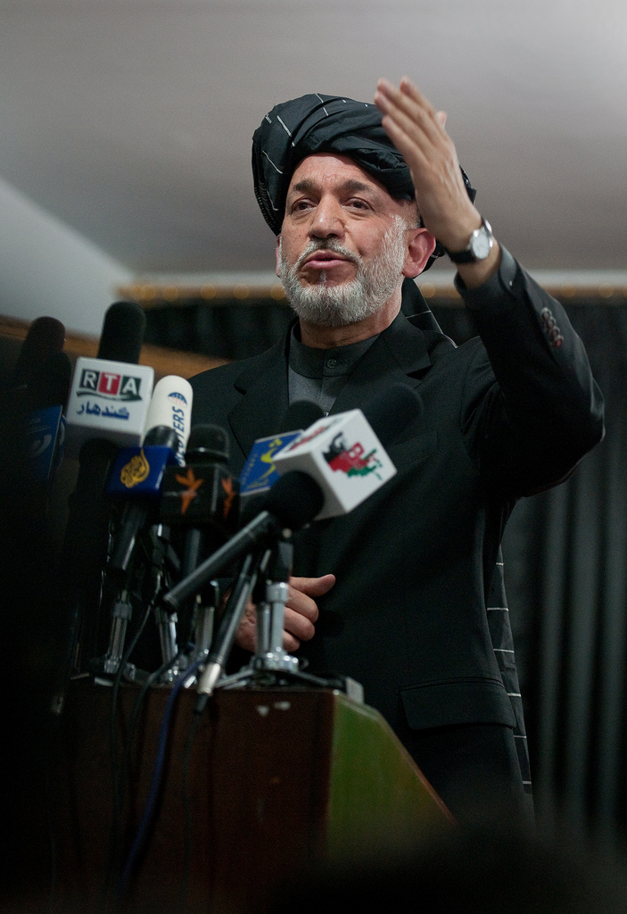 hamid karzai photo